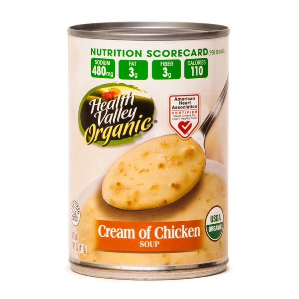Health Valley Organic Cream of Chicken Soup