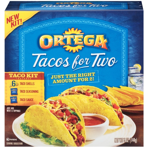 Ortega Tacos for Two Taco Kit