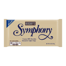 SYMPHONY Milk Chocolate with Almonds and Toffee Giant Bar, 6.8 Ounces