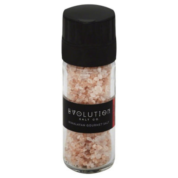 Evolution Salt Himalayan Gourmet Salt Grinder
