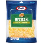 Kraft Finely Shredded Mexican Style Four Cheese Blend, 8 oz