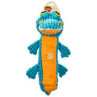 Leaps & Bounds Nubby Gator Bottle Large Dog Toy