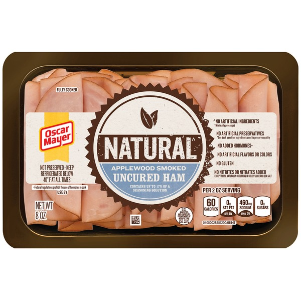 Oscar Mayer Cold Cuts Natural Applewood Smoked Uncured Ham