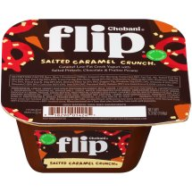 Chobani Greek Yogurt Flip Low-Fat Salted Caramel Crunch, 5.3 oz