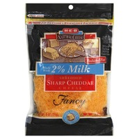 H-E-B 2% Milk Sharp Cheddar Fancy Shredded Cheese