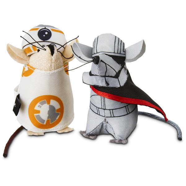 Star Wars BB-8 and Captain Phasma Mice