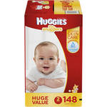HUGGIES Little Snugglers Baby Diapers Huge Pack Size 2