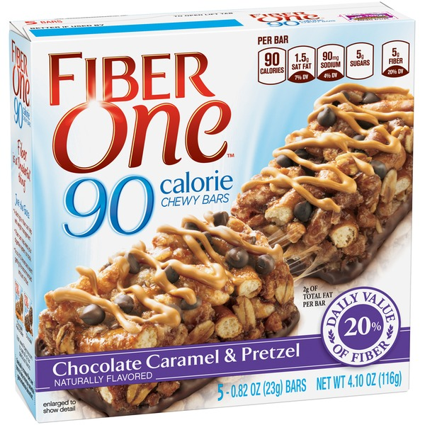 Fiber One 90 Calorie Chocolate Caramel & Pretzel Bars