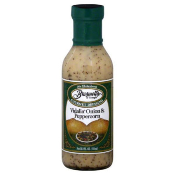 Braswell's of Georgia Gourmet Dressing Vidalia Onion & Peppercorn