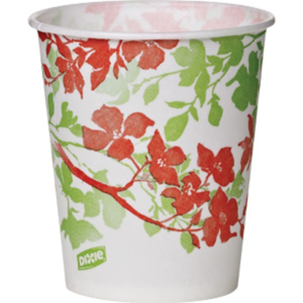 Dixie 5oz Wildflower Paper Cup
