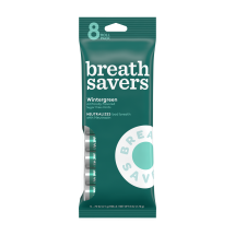 BREATH SAVERS Mints in Wintergreen Flavor (8-Roll Pack), 6 Ounces