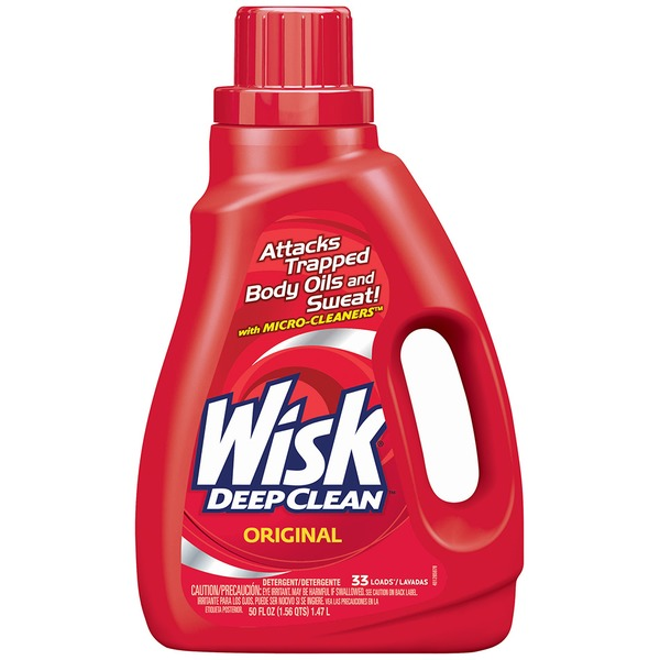 Wisk Deep Clean Original 33 Loads Detergent