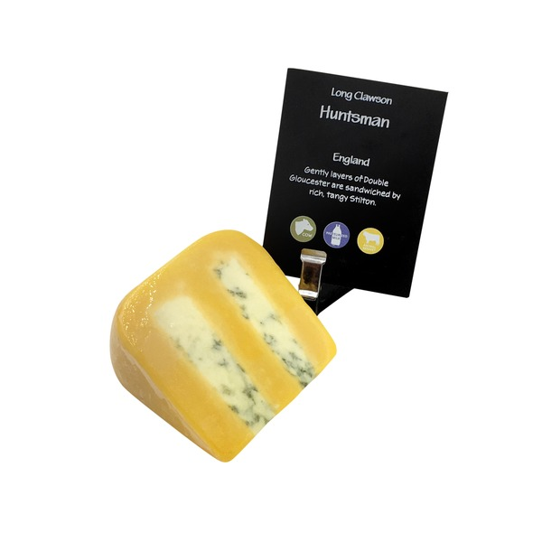 Long Clawson Double Layer Huntsman Cheese