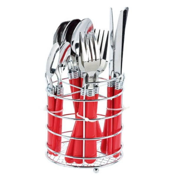 Gibson Sensations Flatware Red