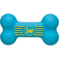 JW Pet I Squeak Bone Dog Toy, Small