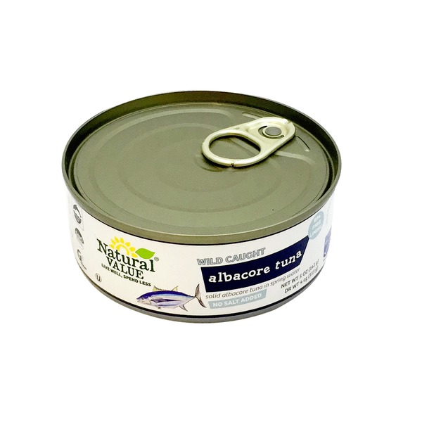 Natural Value Unsalted Albacore Tuna