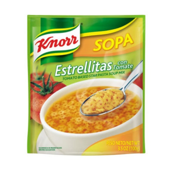 Knorr Tomato Based Star Pasta Soup Mix