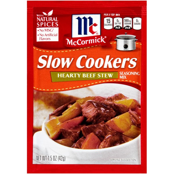 Slow Cookers Hearty Beef Stew Seasoning Mix
