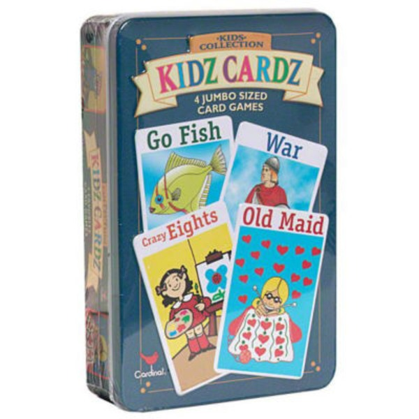 Cardinal Kids Collection Jumbo Sized Card Games