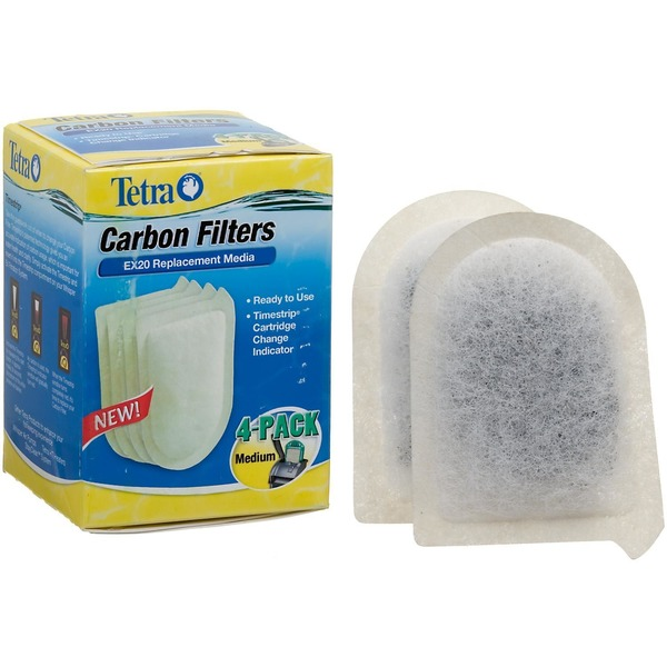 Tetra Medium Replacement Carbon Filters For EX20 Filtration System