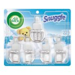 Air Wick Plugins Snuggle Fresh Linen 0.67 oz. (Pack of 5)