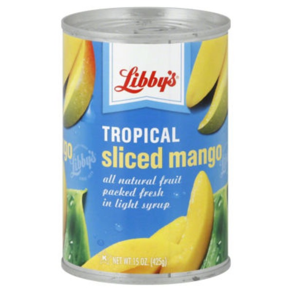 Libby's Tropical Sliced Mango