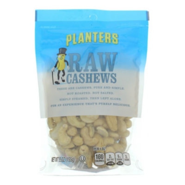 Planters Raw Cashews