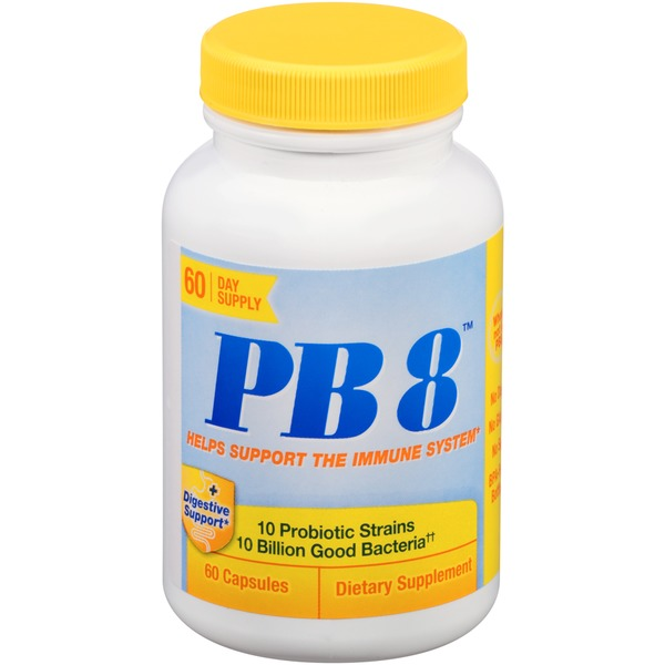 Nutrition Now PB 8 Capsules Dietary Supplement