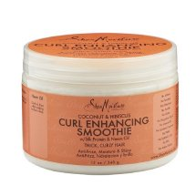 SheaMoisture Curl Enhancing Smoothie Leave-In Conditioner, Coconut & Hibiscus, 12 oz