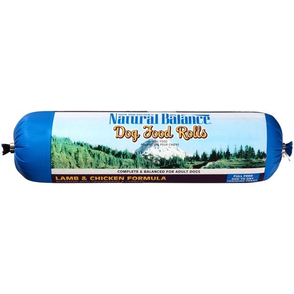Natural Balance Lamb & Chicken Formula Rolls Dog Food