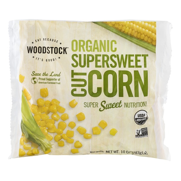 Woodstock Farms Organic Superswet Cut Corn