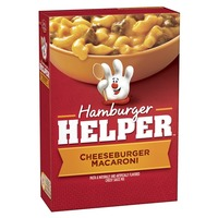 Betty Crocker Cheeseburger Macaroni Hamburger Helper
