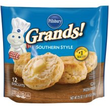 Pillsbury Grands! Southern Style Biscuits, 12 count, 25 oz