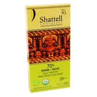 Shattell Chocolate Shattell Tarapoto 70% Dark Chocolate Bar