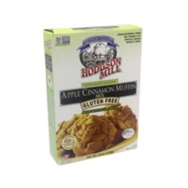 Hodgson Mill Muffin Mix, Gluten Free, Apple Cinnamon