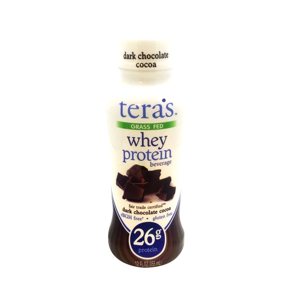 Tera's Whey Dark Chocolate Whey Protein Beverage