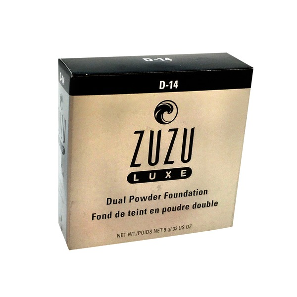 ZuZu Luxe Foundation Dual Powder D14
