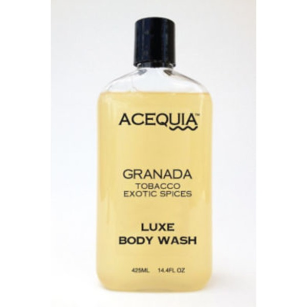 Acequia Granada Tobacco Exotic Spices Luxe Body Wash