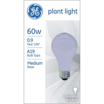 GE 60-Watt A19 Plant Light, 1-Pack