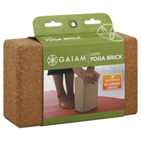 Gaiam Eco Cork Yoga Brick