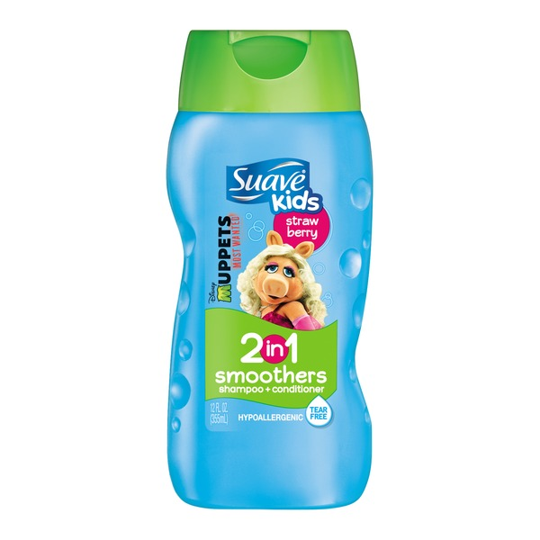 Suave Strawberry Smoothers 2 in 1 Shampoo and Conditioner