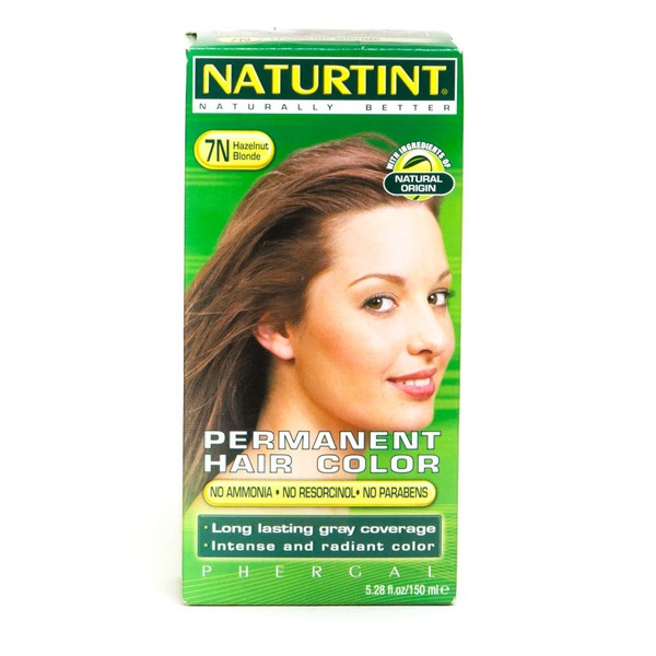 Naturtint Permanent Hair Color - Hazelnut Blonde 7N