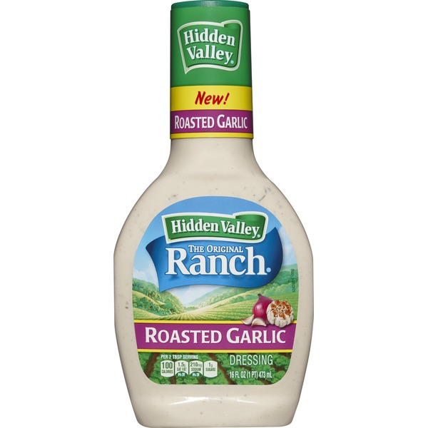 Hidden Valley Ranch Dressing Roasted Garlic