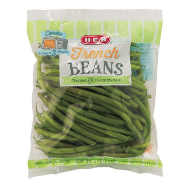 H-E-B Baby French Beans