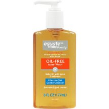 Equate Beauty Oil-Free Acne Wash, 6 Oz