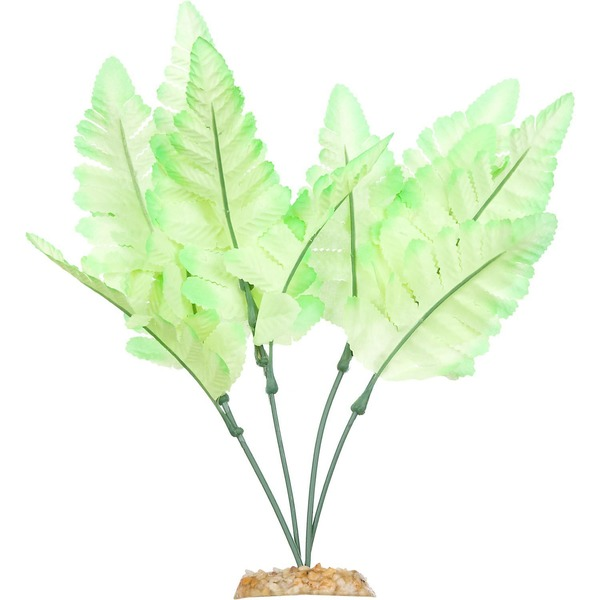 Petco Bright Green Fern Silk Aquarium Plant
