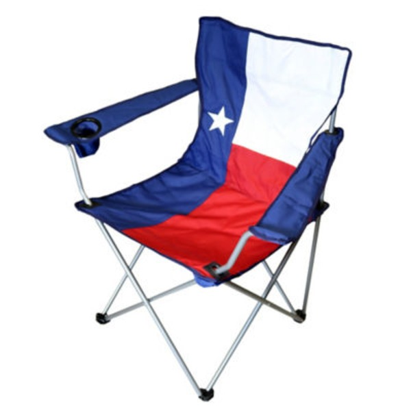 Outdoor Solutions Texas Flag Oversized Arm Chair