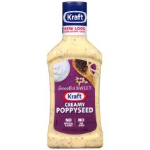 Kraft Salad Dressing Creamy Poppyseed, 16 fl oz
