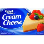 Great Value Cream Cheese, 8 oz