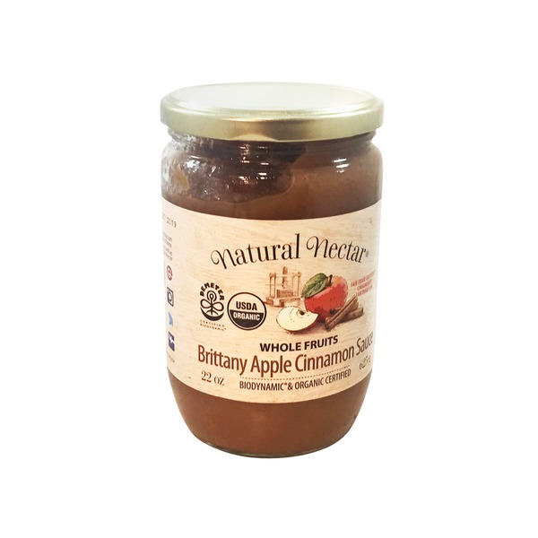 Natural Nectar Apple Sauce Brittany Cinnamon